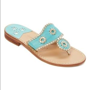 {Jack Rogers} Rio Navajo Leather Sandals